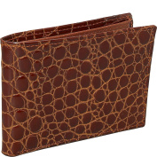 Crocodile Bidente Slim Wallet