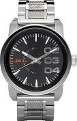 Men's Stainless Steel Not-So-Basic Basic Analog Black Dial Watch