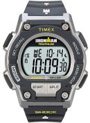 Timex Men's Ironman Shock 30-Lap Watch, Black Resin Strap