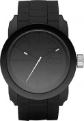 Diesel Men's DZ1437 Black Double Down Silicone Watch