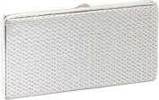 We Mesh Together Silver Wallet/Clutch