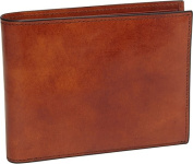 Old Leather Continental ID Wallet