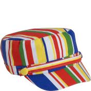 Stripe Print Page Boy Cap