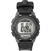 Timex Men's Expedition Digital Chrono Alarm Timer Charcoal Watch, Black Nylon Strap