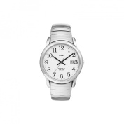 Timex Men's Easy Reader Watch, Stainless Steel Bracelet