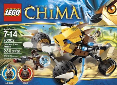 LEGO Chima 70002 Lennox' Lion Attack