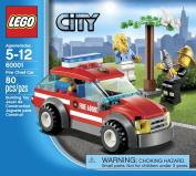 LEGO City 60001 Fire Chief Car