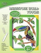 CFK Rhinestone World - Toucan