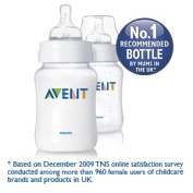 Philips Avent Airflex 270ml PP Twin Pack
