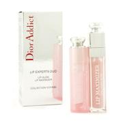 Dior Addict Lip Experts Duo (1x Lip Glow, 1x Lip Maximizer), 2pcs