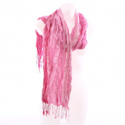 Triple Stripe Scarf - Pink
