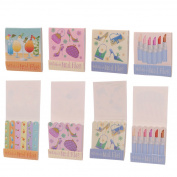 Nail File Match Book - Girly Fashion Designs