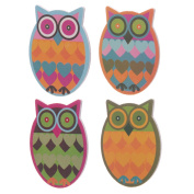 Cute Colourful Owl Nail File Emery Board