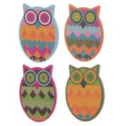 Cute Colourful Owl Nail File Emery Board