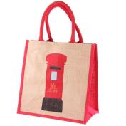 Iconic Britain Jute Bag