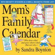 Mom's Family Calendar 2014