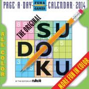 The Original Sudoku Calendar 2014