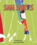 Sam Surfs [Board book]