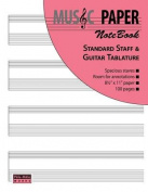 MUSIC PAPER NoteBook