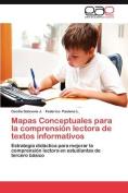 Mapas Conceptuales Para La Comprensi N Lectora de Textos Informativos [Spanish]
