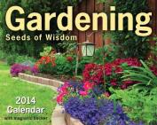 Gardening 2014 Mini Box Calendar