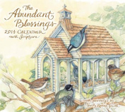 The Abundant Blessings 2014 Deluxe Wall Calendar