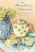 The Abundant Blessings Monthly Planner