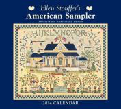 Ellen Stouffer's American Sampler 2014 Deluxe Calendar
