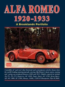 Alfa Romeo 1920-1933 Road Test Portfolio
