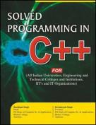 Solved Programming in C++