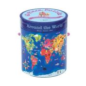 Around the World 63 Piece Puzzle