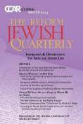 Judaism & the Arts  : Ccar Journal, Winter 2013