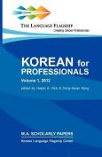 Korean for Professionals Volume 1 [KOR]
