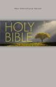 NIV, Outreach Bible, Paperback, Gray