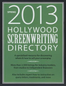 Hollywood Screenwriting Directory Spring