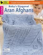 Baby's Diagonal Aran Afghans