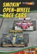 Smokin' Open-Wheel Race Cars