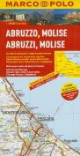 Italy - Abruzzo, Molise Marco Polo Map (Marco Polo Atlases