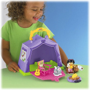 Fisher Price - Little People - Play N Go - Campsite