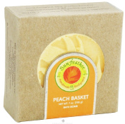 Sunfeather - Bath Bomb Peach Basket - 210ml