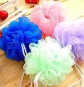 Lovely Colour Bath Ball Shower Flower 3 Pcs/pack