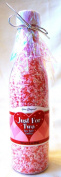Valentines Just For Two Rose Bath Confetti Bottle