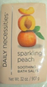 Daily Necessities Sparkling Peach Soothing Bath Salt 950ml Each