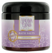 AromaLand - Natural Bath Salts Lavender - 590ml CLEARANCE PRICED
