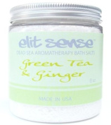8 oz Dead Sea Bath Salts - Green Tea & Ginger