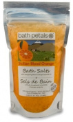 Bath Petals - Sicilian Blood Orange Bath Salts, 330ml / 312 g e 2-3 baths
