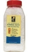 Sea Minerals 0433839 Bath Salts from The Dead Sea - 2 lbs