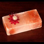 Himalayan Salt Block - Rectangular 10.2cm x 20.3cm x 2.5cm