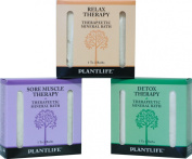 Therapeutic Mineral Bath Salt Trio Sampler Set- 3 pack- 90ml each