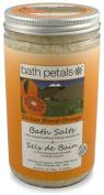 Bath Petals - Sicilian Blood Orange Bath Salts, 1180ml / 1113 g e 10-15 baths